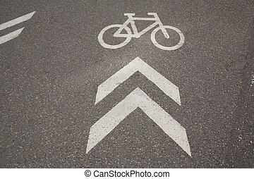 Bike Lane Sign