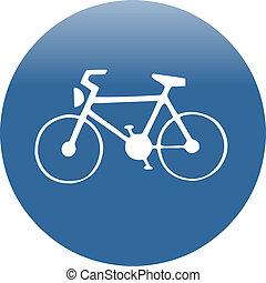 bike line traffic sign