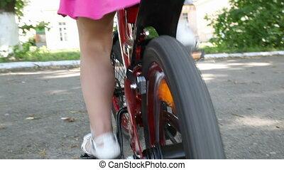Bike - Little girl in bike