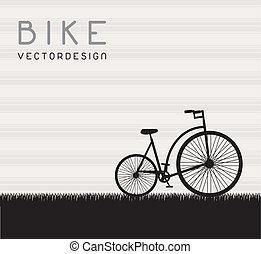 Bike chain frames. Bike chain forming two frames - just add your content.