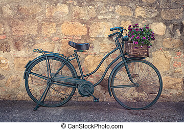 bike on a street