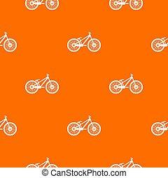 Bike pattern seamless