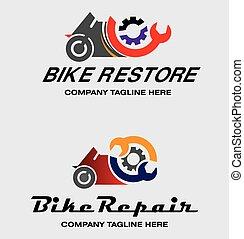 Bike Repair Logos