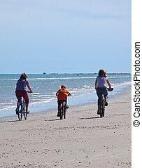 Bike Ride - Riding Bikes on the Beach