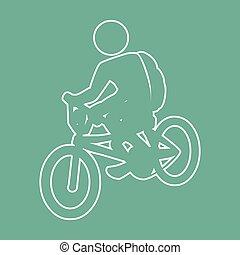 bike rit, ontwerp