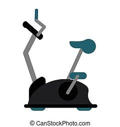 bike static machine fitness gym