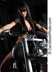 Bike - A Lady on her nice bike