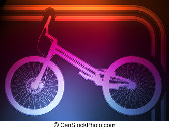 Bike vector background concept