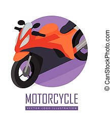 Bike Vector Icon in Isometric Projection