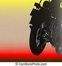 Biker Background