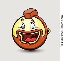 Biker Emoji Smiley Emoticon