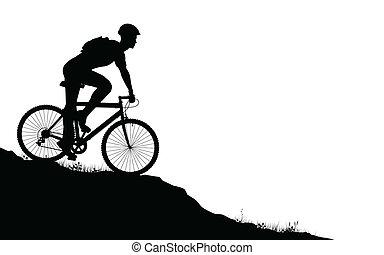 biker montanha