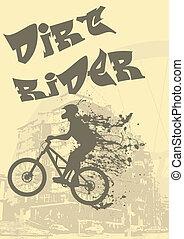 Biker splash