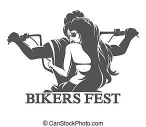 Bikers Fest Emblem