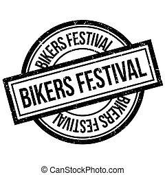 Bikers Festival rubber stamp