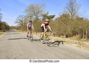 bikers, otwarta droga