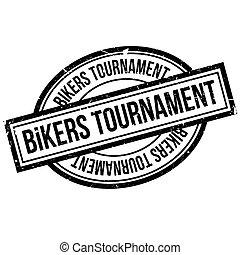 Bikers Tournament rubber stamp