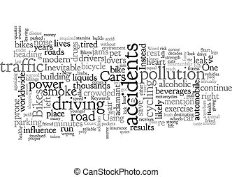 Bikes And Your Life text background wordcloud concept