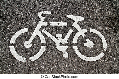 Bikes on the road