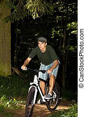 biking, 人