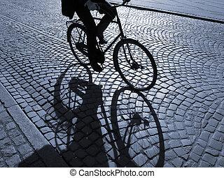 biking, 午後