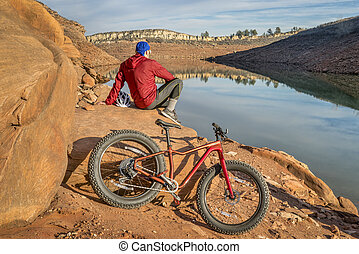 biking, foothills, gorda, colorado