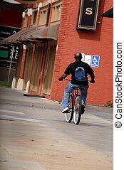 Biking Wichita