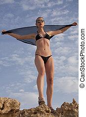 Bikini fashion girl