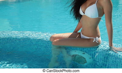 Bikini Female Sunbathing