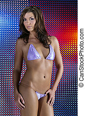 bikini, modell