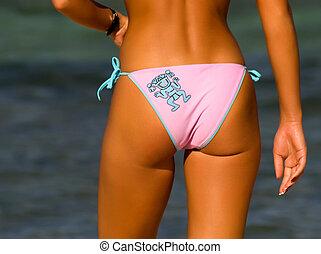 bikini, ragazza