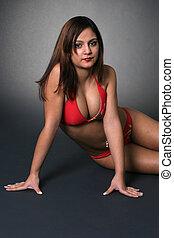 bikini, rouges