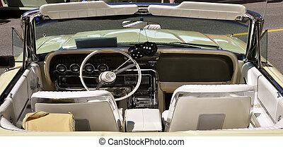 bil, årgång, inre