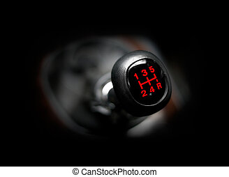 bil, gearstick