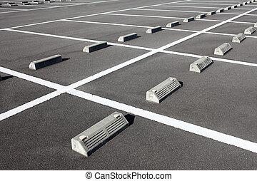bil, parkeringsplats