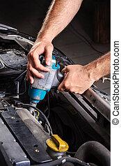 bil reparation affär
