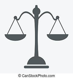 bilancia, icona