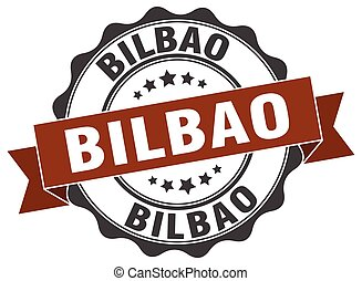 Bilbao round ribbon seal