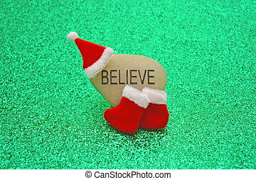 bild, begriff, santa, glauben