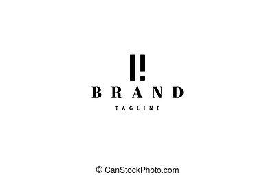 bild, brief, d., vektor, logo, abstrakt