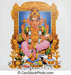 Hinduismus Götter Ganesha