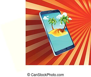 bild, smartphone