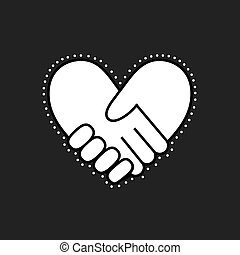 bilda, handslag, heart3