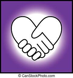 bilda, heart1, handslag
