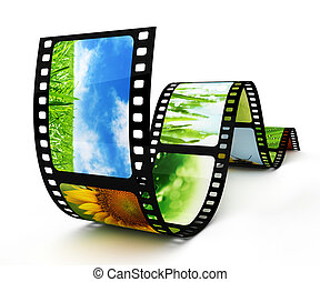 bilder, filmstrip