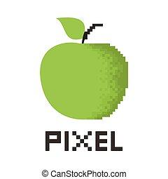 bildpunkt, äpple