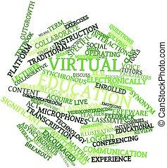 bildung, virtuell