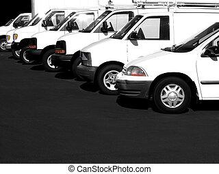 bilerne, række