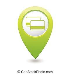 bilety, mapa, wskazówka, bank, kredyt