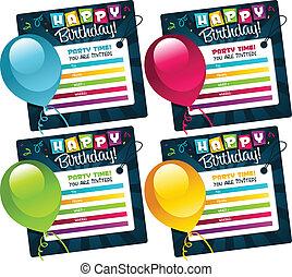 bilety, mini, urodziny